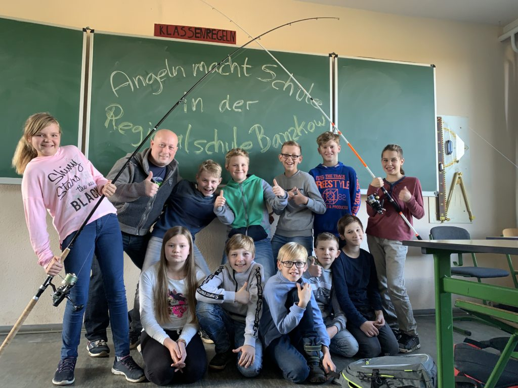 Angeln macht Schule in Banzkow